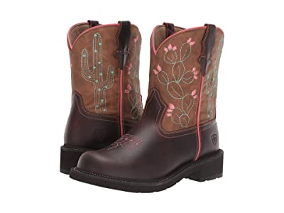 Ariat Fatbaby Heritage (Cactus Dark Hazel/Desert Tan) Cowboy Boots