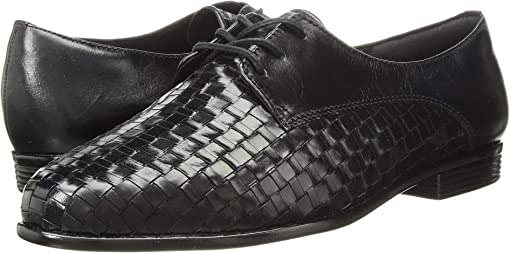 Black Woven/Smooth Leather