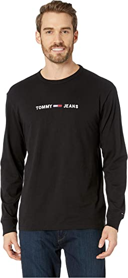Small Text Long Sleeve