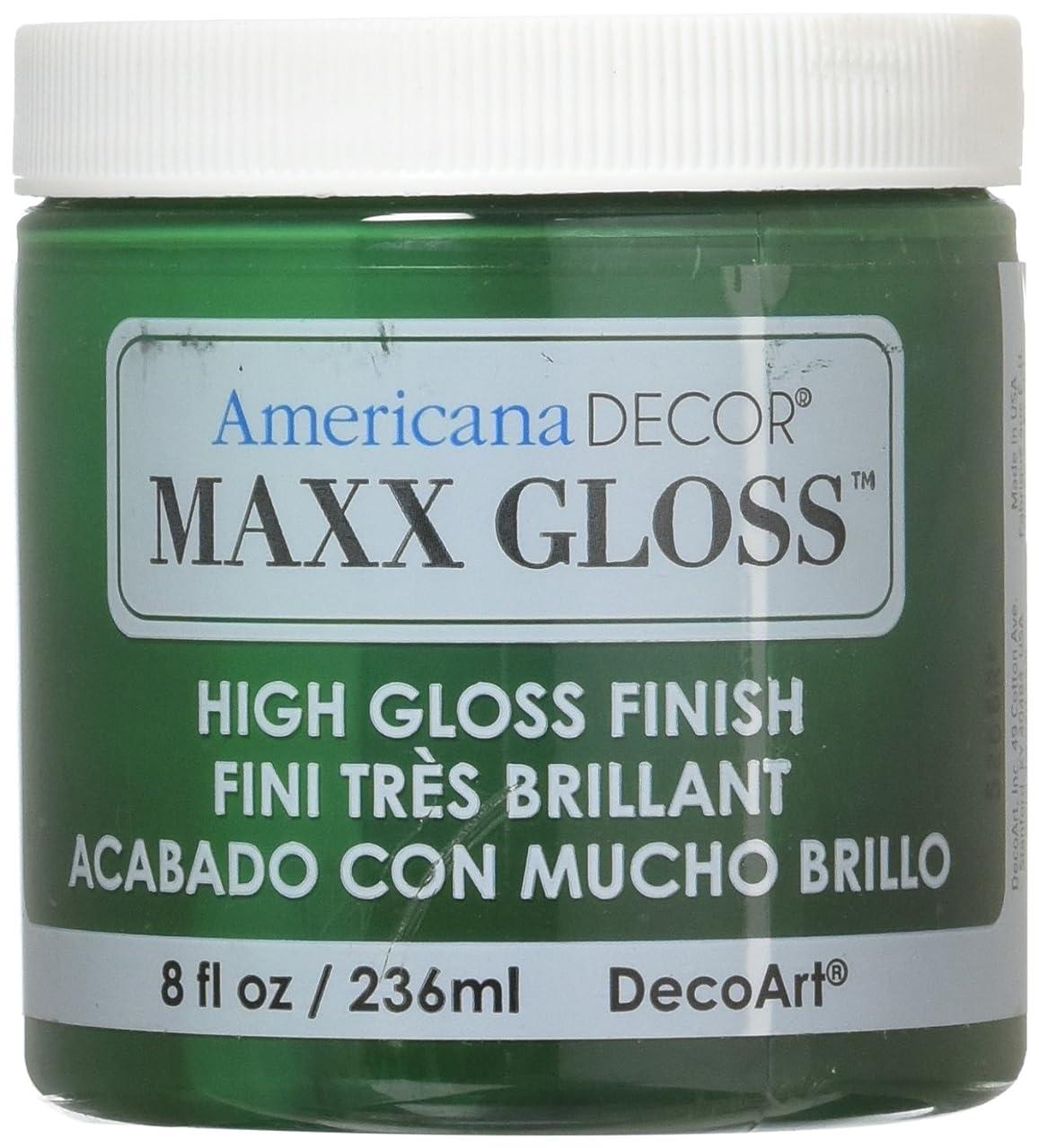 DecoArt Maxx Gloss Acrylic Paint, 8 oz, Poblano Pepper