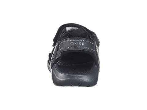 Negro Grafito Leather Fisherman Swiftwater Crocs q7O6nt64