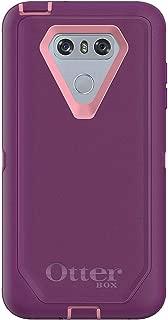Rugged Protection OtterBox Defender Series Case for LG G6 - Bulk Packaging - Vinyasa (ROSEMARINE/Plum Haze)