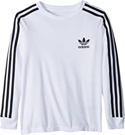 adidas Originals Kids California Long Sleeve Tee (Little Kids/Big Kids)