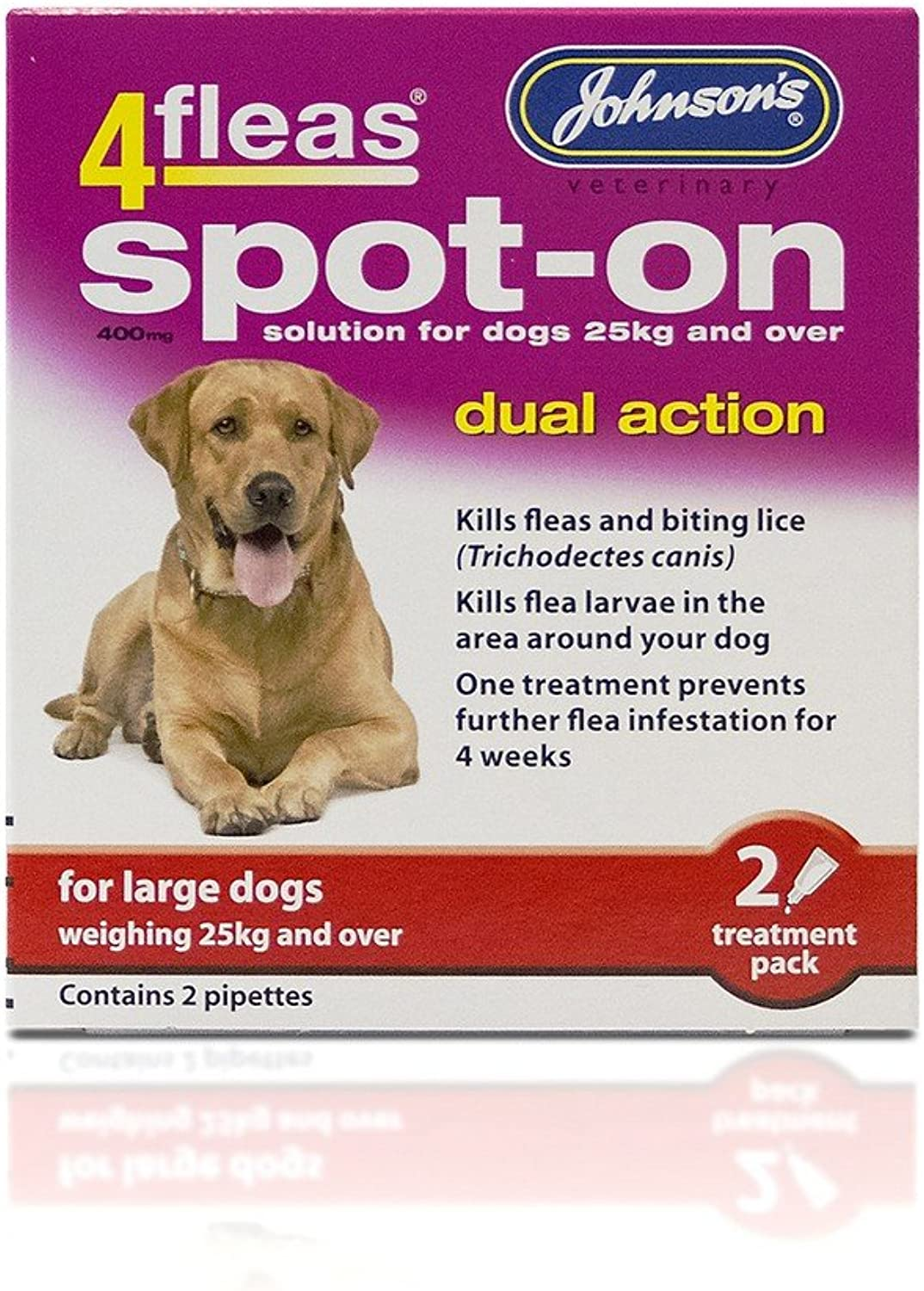 4fleas Spoton Large Dog 2 Vial Pack (Pack of 6)