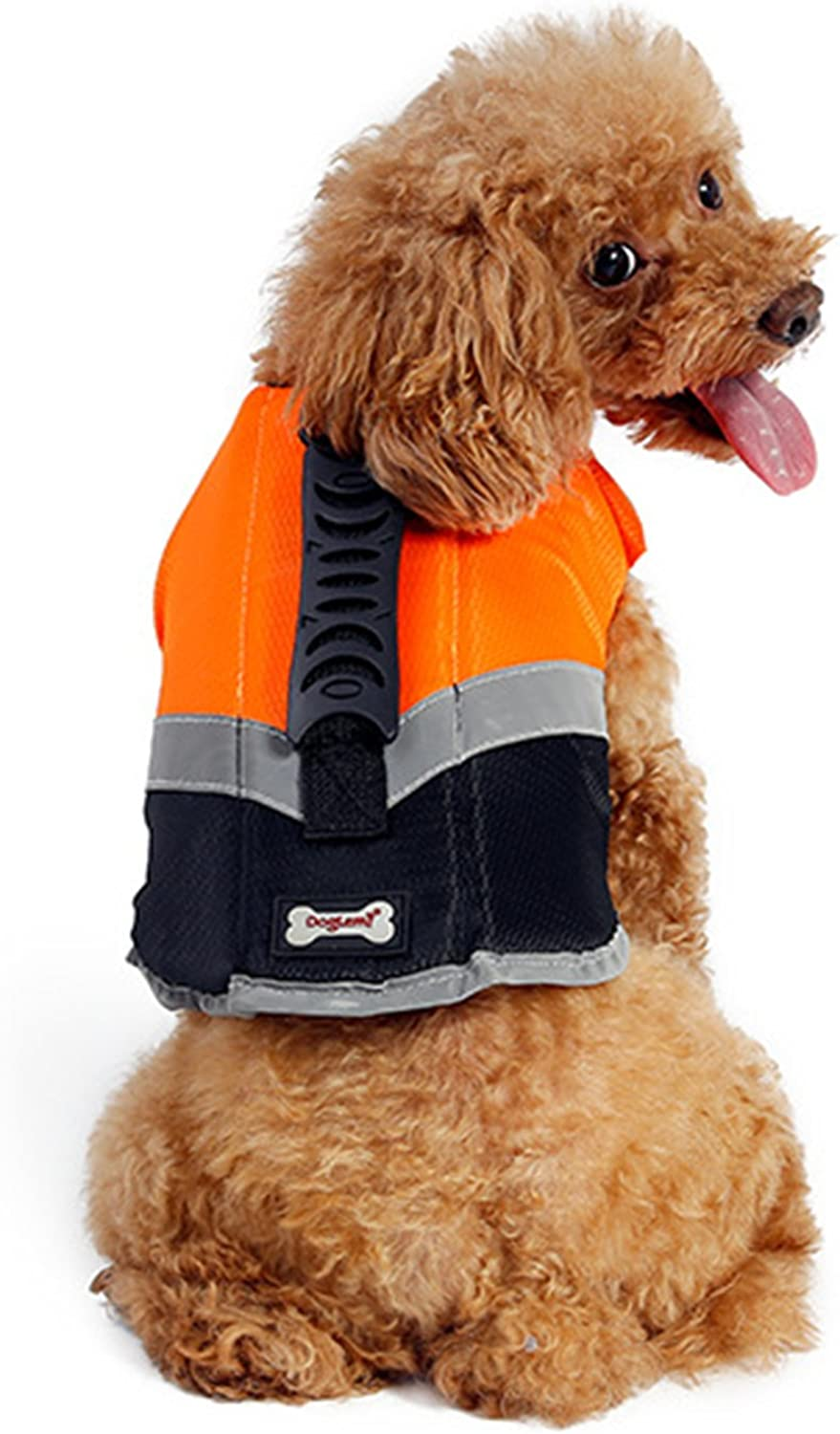 Alfie Pet  Lumen Pet Life Jacket  color  orange, Size  Small