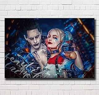 Joker /& Harley Quinn 8x10 matted Art Print Poster Decor picture Gift U.S Seller