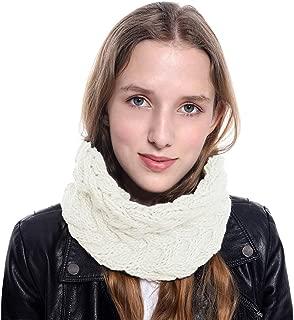 Women Infinity Scarf Winter Knit Neck Warmer Loop Scarf