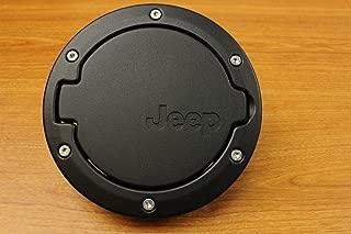 Liquor Car New for Jeep Wrangler JK 2//4 Door 2007-2015 2008 2009 2010 2011 2012 2013 2014ABS Black Rear Fuel Petrol Filler Cover Gas Tank Cap