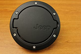 Mopar 82210609AC  2007 - 2016 Jeep Wrangler Satin Black Fuel Filler Door