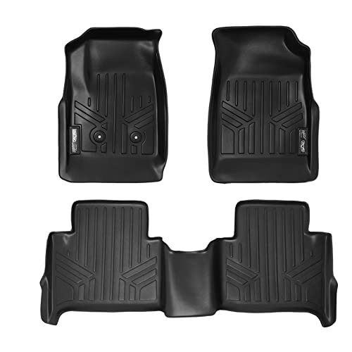 MAXFLOORMAT Floor Mats for Chevy Colorado/GMC Canyon (2015) Crew Cab Complete Set