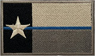 Texas State Flag Tactical Morale Patch Appliques (Texas Blue)