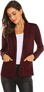 Best cheap burgundy blazer Reviews