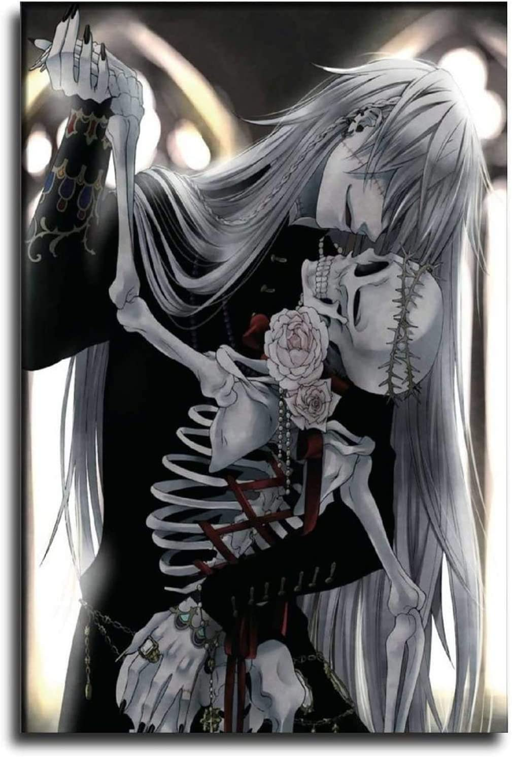 Undertaker Max 77% OFF Black Butler Canvas Painting Print Art Oil Cash special price Anime Wall