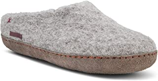 Felted Wool Slippers for Women and Men - Hide or Rubber Sole - Fairtrade Classic Slipper