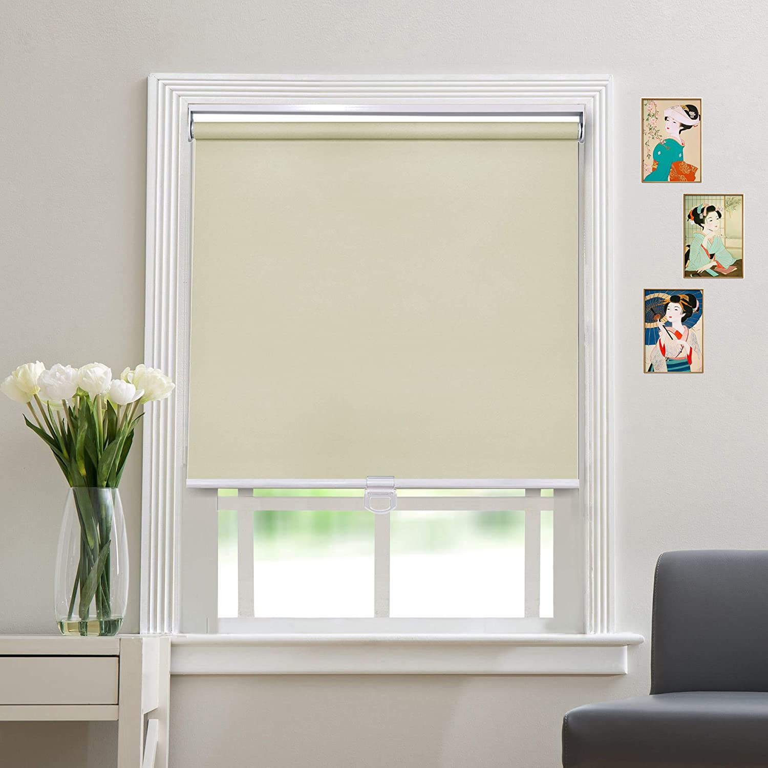Blackout Cordless Roller Blinds and Windows - Shades for Max 53% OFF discount Safety