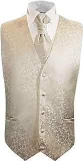 Formal Wedding Vest Set in Champagne