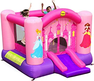 Happy Hop princess slide and hoop bouncer 9201P, Happy Toys, multi color