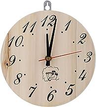 Sauna Horloge Sauna minuterie Horloge Accessoire de Sauna résistant à la Chaleur Sauna Chambre décor minuterie décorative ...