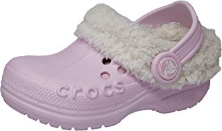 Crocs Infantil Clog Blitzen, Rosa/Bege, Tamanho 24/25 BRA