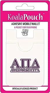 Alpha Pi Delta - Koala Pouch - Adhesive Cell Phone Wallet