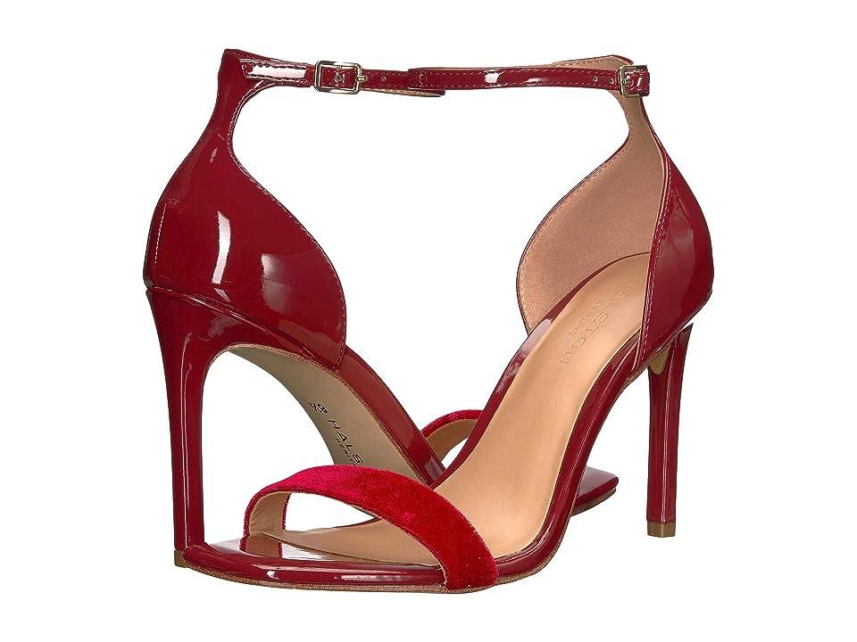 Halston Heritage Myra Heels (Cranberry Patent) Women