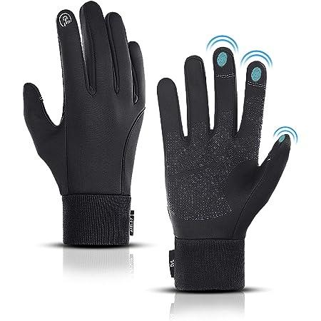 Winter Vollfinger Handschuhe Radsport Fahrradhandschuhe Sport Touchscreen M-XXL