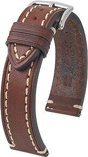 Hirsch Liberty Artisan Calf Leather Watch Strap - 18mm, 20mm, 22mm, 24mm - Length - Attachment / Buckle Width - Quick Release Watch Band