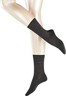Basic Easy Socks 2p Calcetines, Gris (Anthracite 3080), 35/38 (Talla del fabricante: 35-38) (Pack de 2) para Mujer