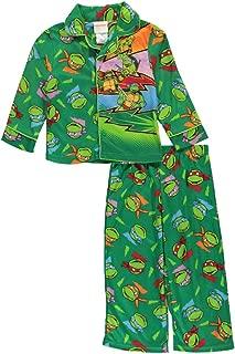 Teenage Mutant Ninja Turtles Little Boys' Toddler Lightning 2-Piece Pajamas