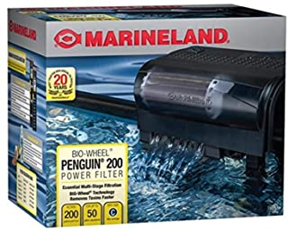 MarineLand Penguin 200 Power Filter, 200GPH (PF0200B),Black