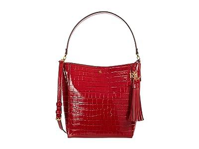 LAUREN Ralph Lauren Adley 25 Crossbody (RL 2000 Red) Handbags