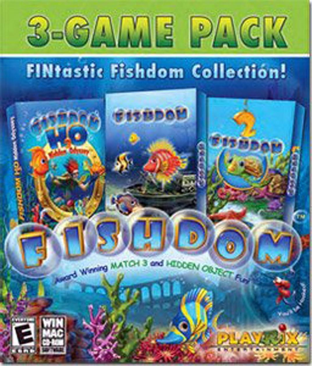 クラックポット突っ込む前置詞Fintastic Fishdom Collection (輸入版)