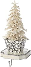 Olivia Riegel - Stocking Holder - Flocked Christmas Tree