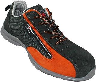 Aimont AF One S1P SRC Chaussures de sécurité travaillent Chaussures de randonnée Vert Plat