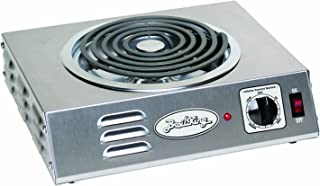 Broil King CSR-3TB Professional Single Hot Plate, Hi Power, 14-Inch by 4-1/8-Inch by 12-1/4-Inch, Grey