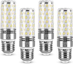 Vicloon Led-maïslampen, 12 W E27 maïslampen met 84 leds, 1400 lm, komt overeen met 100 W gloeilampen, koud wit 6000 K, gro...