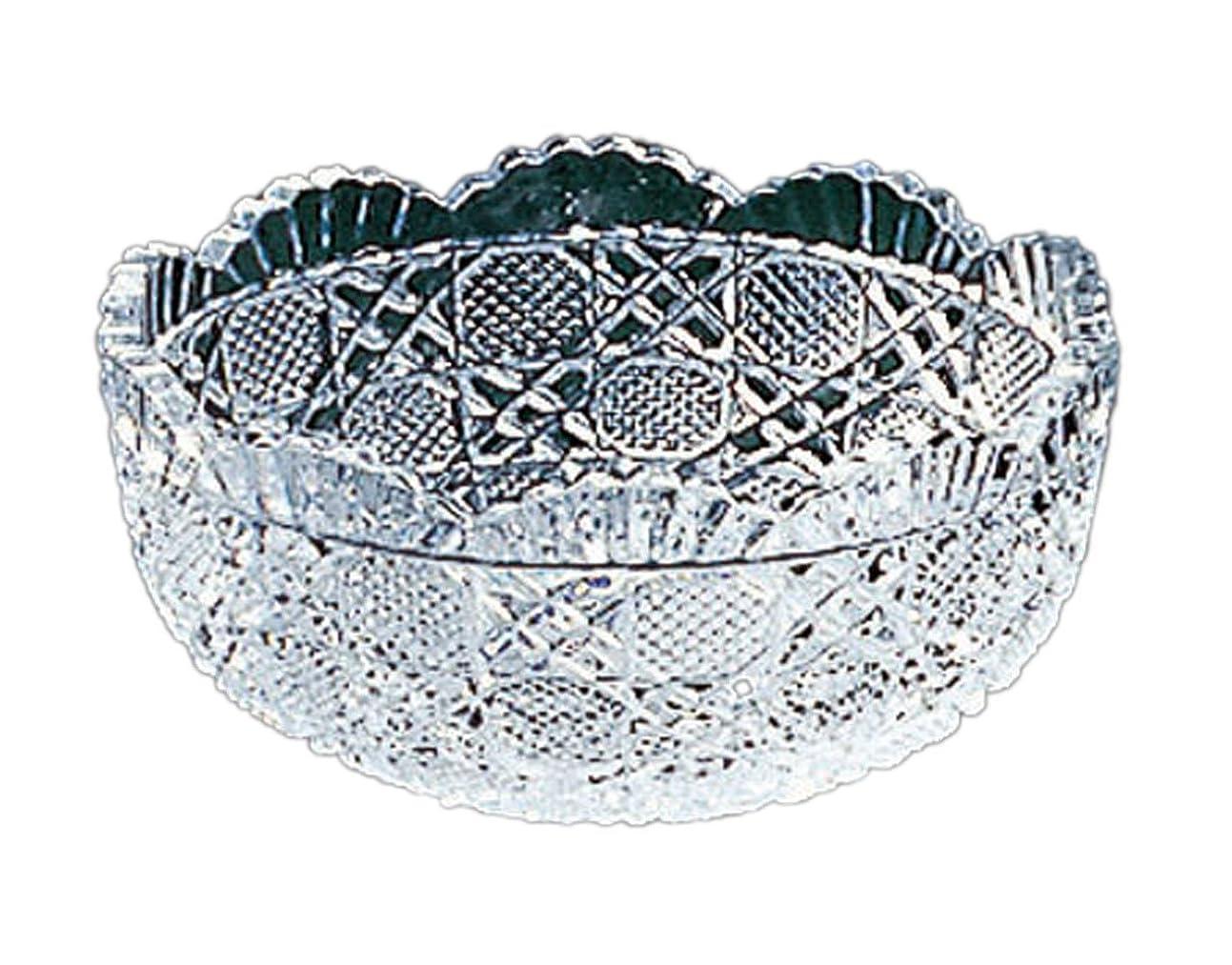 レイア肌寒い叱る東洋佐々木ガラス 中鉢 クリア 約φ13.6×6.2cm 風雅 洗鉢 日本製 LP00607