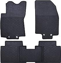 Nylon Carpet Black Coverking Custom Fit Front Floor Mats for Select Nissan 210 Models