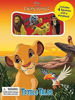 Phidal Disney The Lion King Tattle Tales Board Book, multicolor
