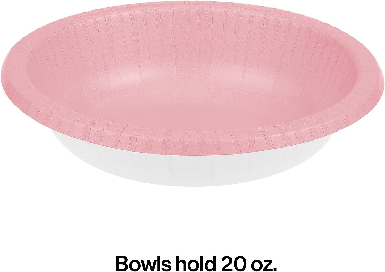 Creative Converting Paper Bowls 20oz 20//Pkg-Coral