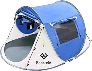 Eackrola 2-Person-Tent, Instant Pop up Tent for Camping,...