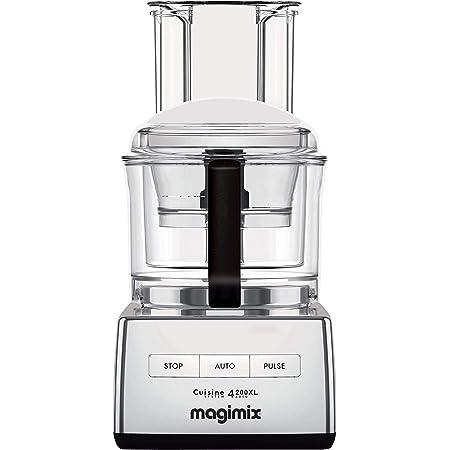 Magimix - Robot Multifonction CS 4200 XL Chrome Brillant - Robot De Cuisine - Fabriqué en France