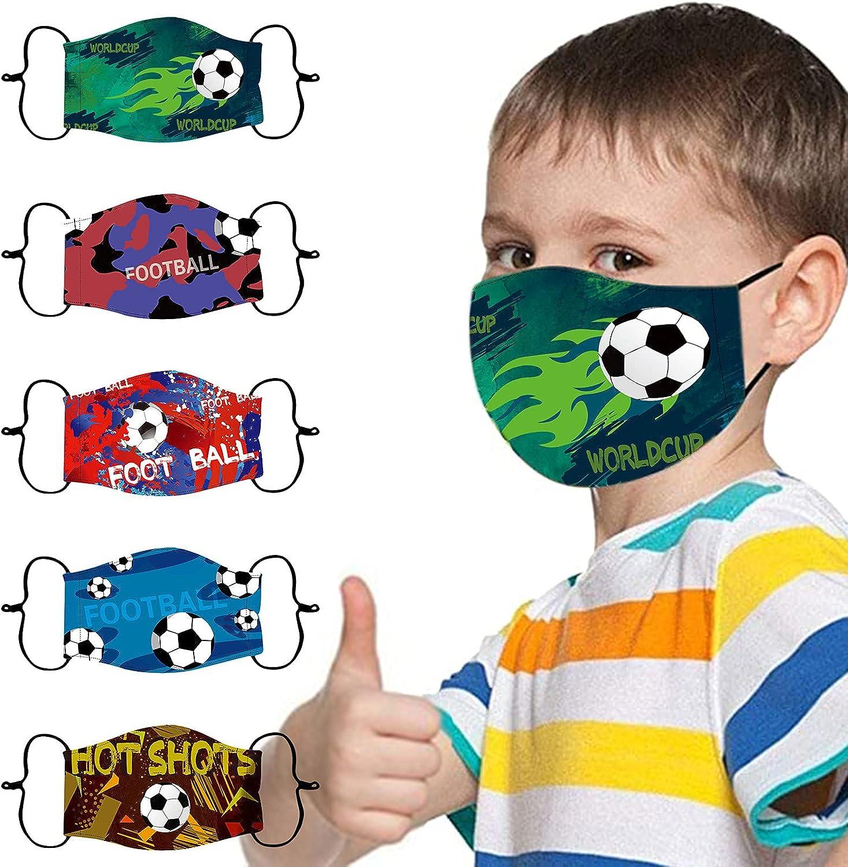 Kids Face Mask Children Reusable Adjustable Sales of SALE items from new works Masks Washable 5 popular