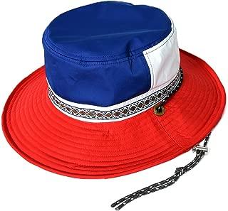 [クリサンドラ] サファリハット 撥水加工 ハット 男女兼用 マルチカラー アドベンチャー ハット ワイヤー入り 無地 フリーサイズ カジュアル ブランド 帽子