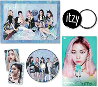 ITZY 1st Album - IT'Z ICY [ ICY ver. ] CD + Photobook + Photocards + FREE GIFT / K-POP S...