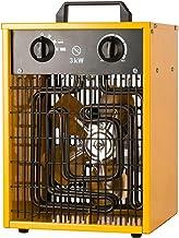 DQDL Calentador De Ventilador Industrial Comercial con Termostato Ajustable - 3 Configuraciones De Control De Calor para Calentar Espacios Grandes para Garajes Y Espacios Interiores Grandes