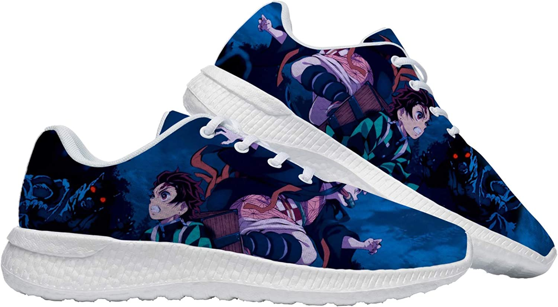 New Free Shipping Japanese Anime Shoes for Men Running Women Custom Cosplay Detroit Mall