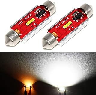 Phinlion 578 LED Bulb White Canbus Super Bright 600 Lumens Error Free CSP 1860 SMD Festoon 41mm 42mm 1.72