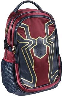 Spiderman - Mochila Casual de Viaje, 47 cm, Rojo