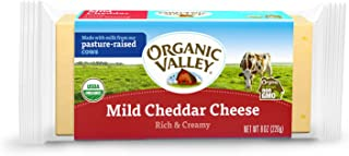 Organic Valley, Organic Mild Cheddar Cheese, 8 oz